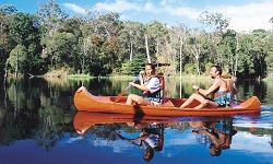 Canoeing on the Atherton Tablelands